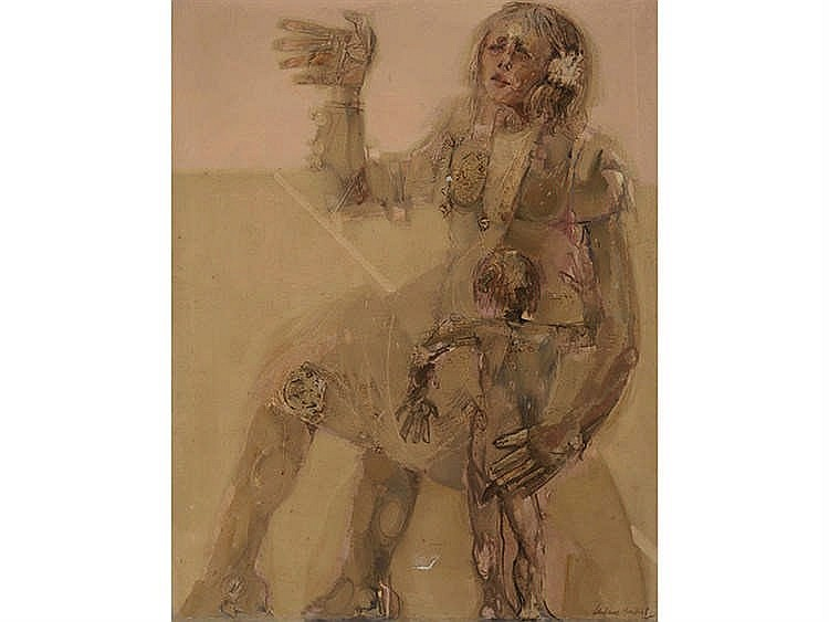 JUAN GUTIÉRREZ MONTIEL (Jerez de la Frontera, Cádiz, 1934-2008) Maternidad