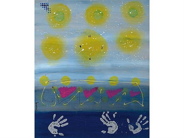 ANTONIO CALLEJA (Madrid, 1960) El tiempo es el modo que tiene la naturaleza de impedir que