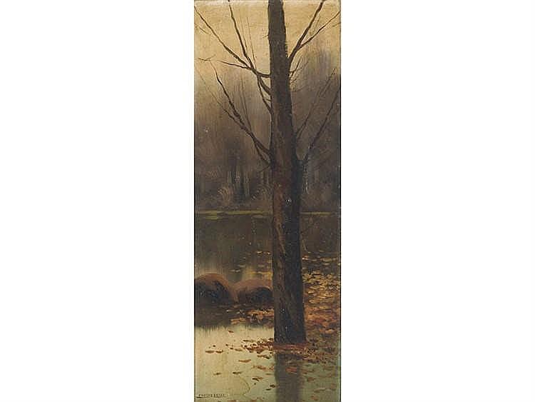 ENRIQUE SERRA (Barcelona,1859-Rome,1918) Árbol