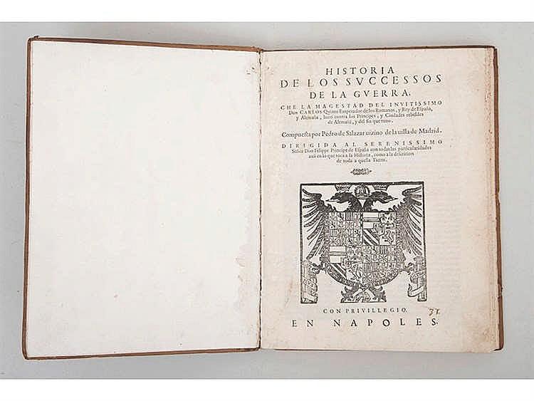 PEDRO DE SALAZAR (1549-1629) Historia de los Sucesos de la Guerra