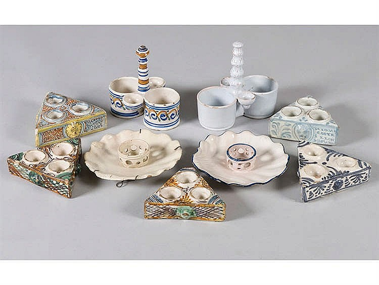 A SPANISH CERAMIC COLLECTION