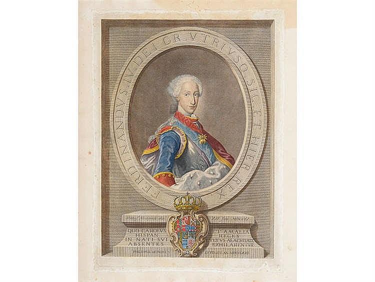 SPANISH SCHOOL, 18TH CENTURY Ferdinand IV of Castile