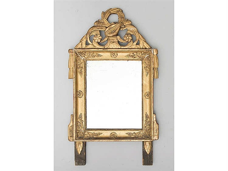 AN FRENCH STYLE MIRROR