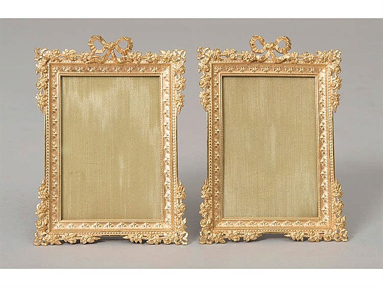 A PAIR OF FRENCH FRAMES, LATE 19TH CENTURY