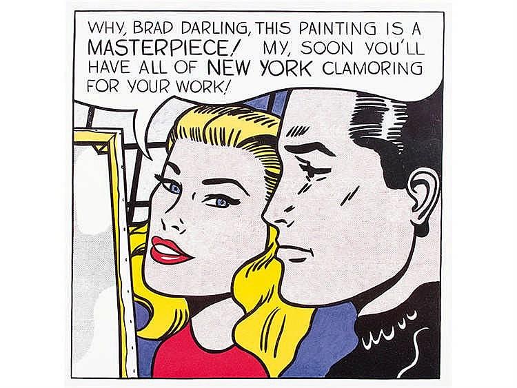 ROY LICHTENSTEIN (New York, 1923- 1997) Masterpiece, 1962
