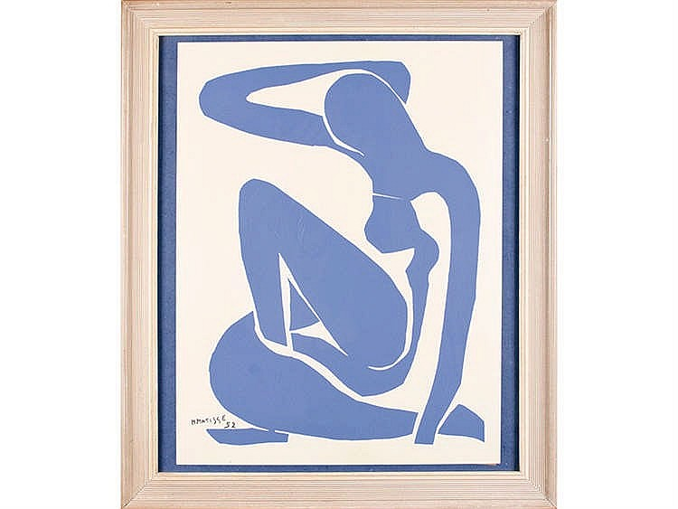 HENRY MATISSE (Cateau Cambrésis, 1869- Nice,1952) Nu Bleu