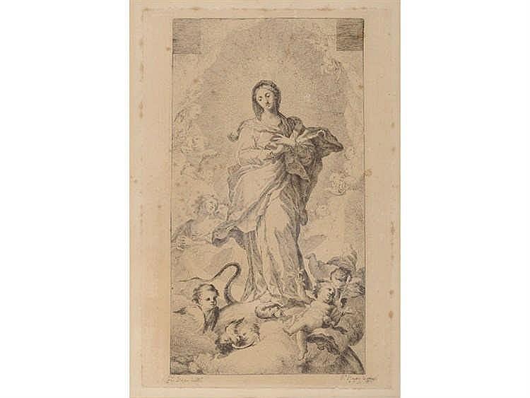 RAMÓN BAYEU (Zaragoza, 1746-Aranjuez, 1793) Inmaculada