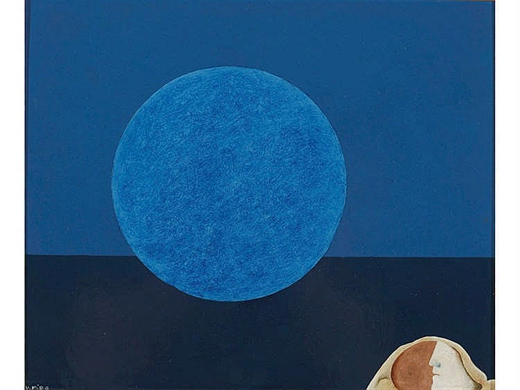 VICTOR MIRA ( Zaragoza, 1949- Munich, 2003) Luna