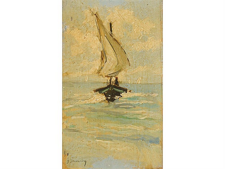 JOSÉ NAVARRO LLORENS (Valencia, 1867-1923) Marine