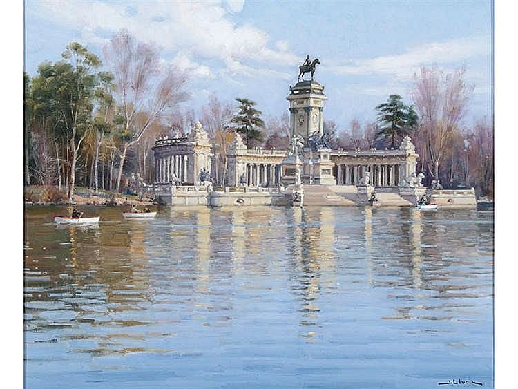 JUAN LLUNA (Lerma, 1933) El Retiro