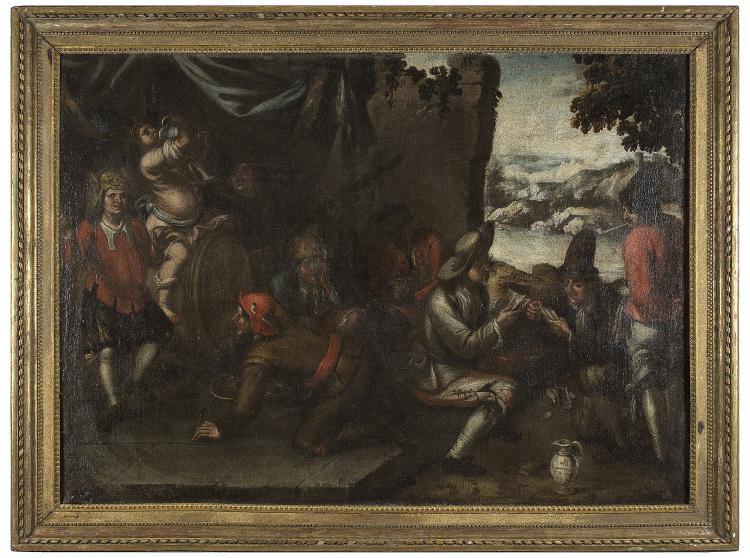 ATTRIBUTED TO BERNARDO GERMAN LLORENTE (Sevilla, 1680 - 1759) Los vicios