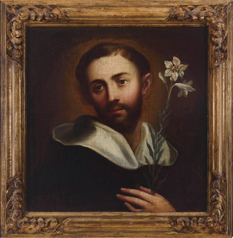 JUAN DEL CASTILLO (Sevilla, hacia 1590-1657) Santo Domingo de Guzman