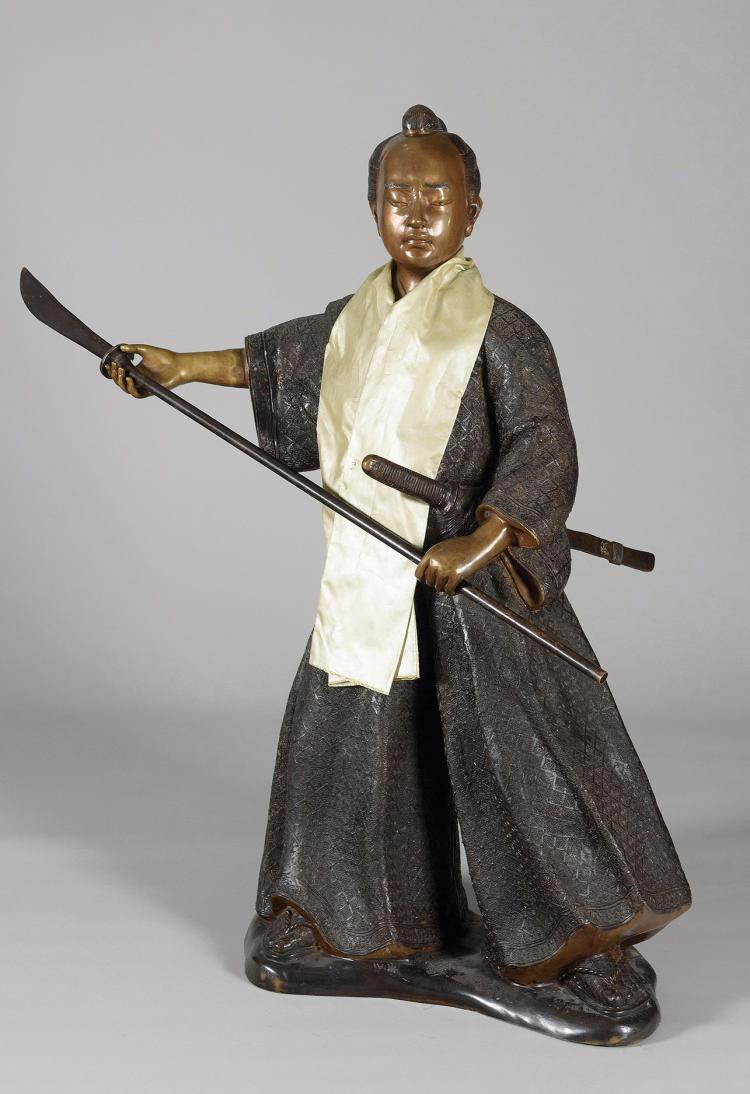 JAPAN SCHOOL, 20th C. Samurai
