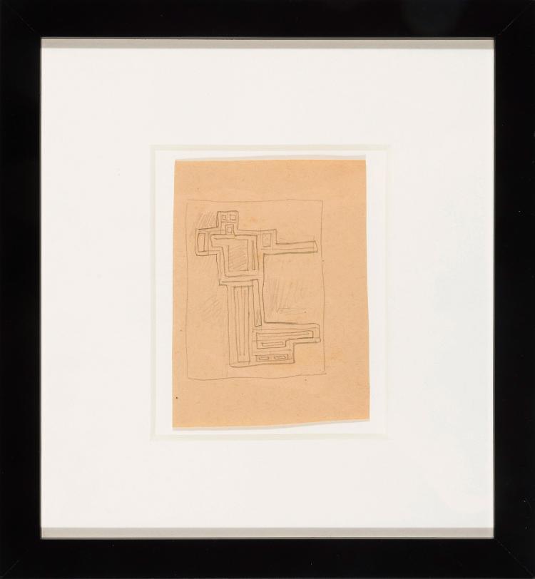 JOAQUIN TORRES GARCIA (Montevideo, 1874 - 1949) Forma