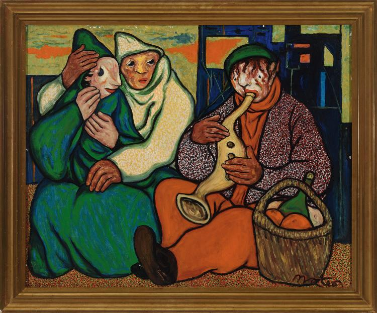 FRANCISCO MATEOS (Sevilla, 1894 - Madrid, 1976) La romanza del pobre