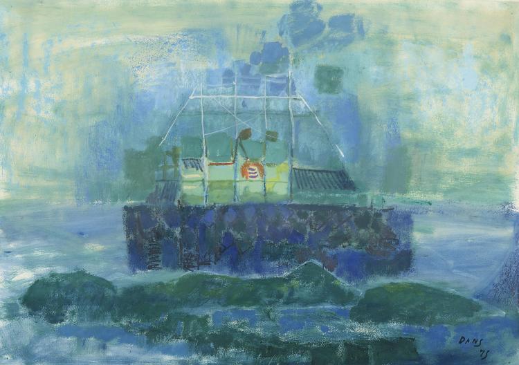 MARÍA ANTONIA DANS (Oza de los Ríos, La Coruña 1922 - Madrid, 1988) Barco