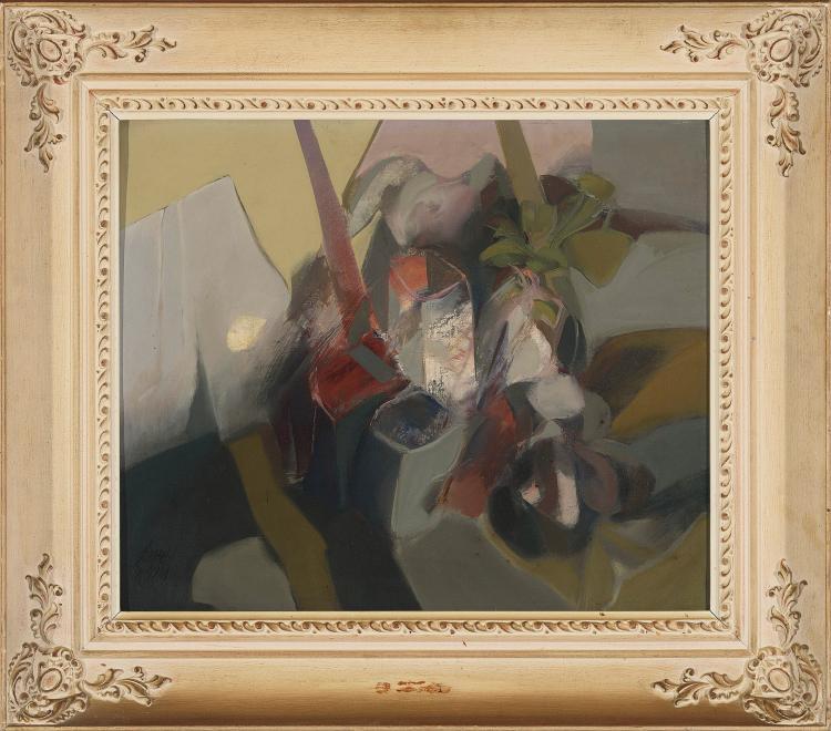 DANIEL MERINO (Madrid. 1941 - Guadalajara, 2011) Bodegón