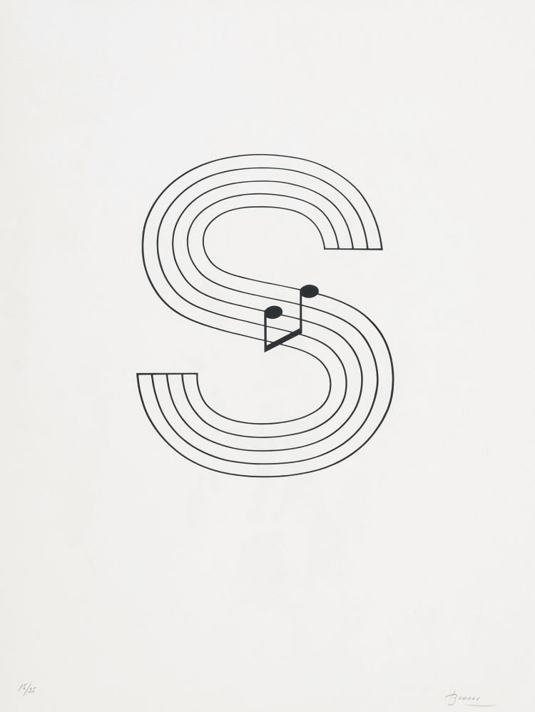 JOAN BROSSA ( Barcelona, 1919 - 1998) Untitled, 1988