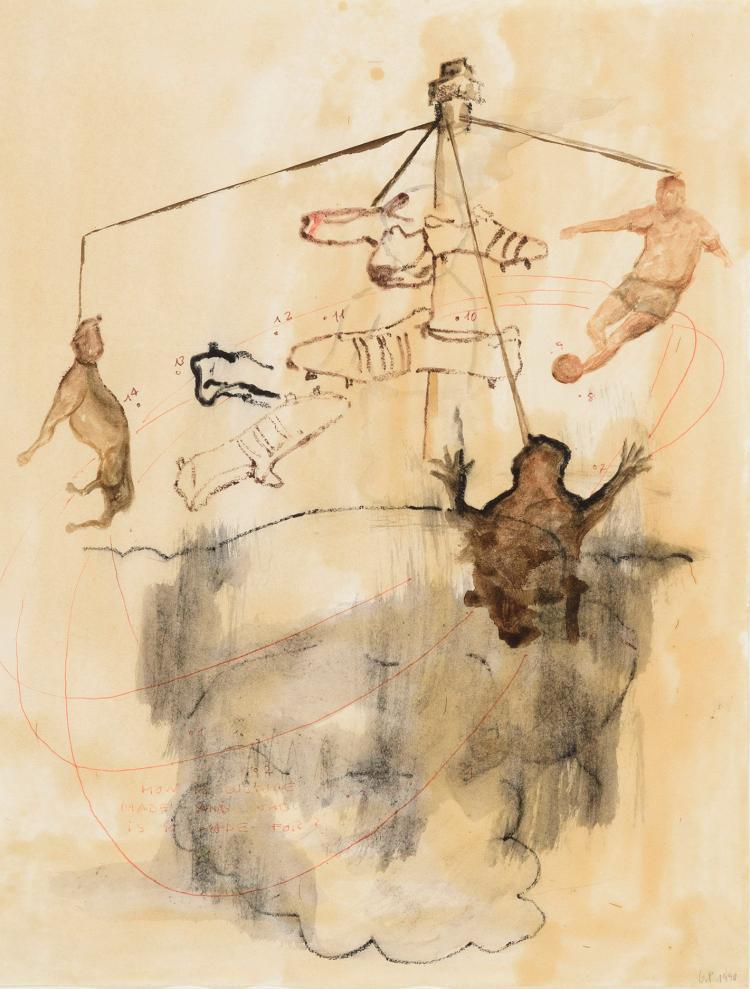 GUILLERMO PANEQUE (Sevilla, 1963) Untitled, 1990
