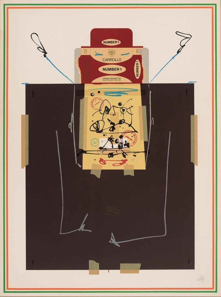 ANTONIO SAURA (Huesca, 1930-Cuenca, 1998) Ana. 1976