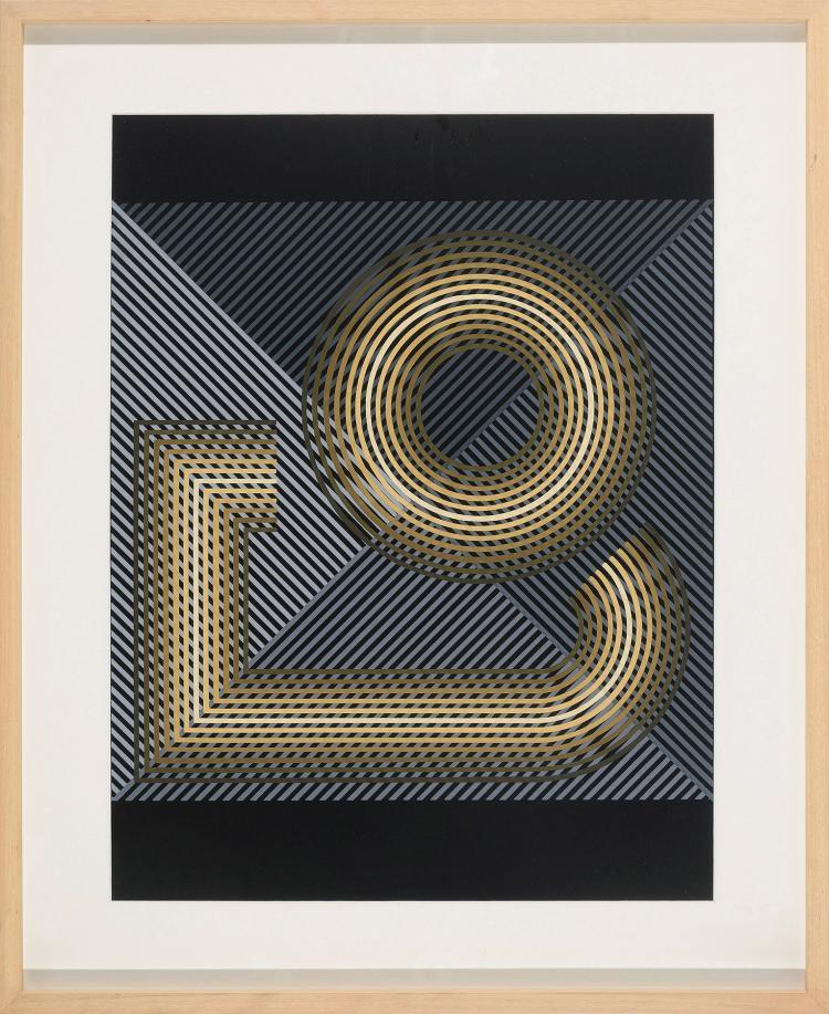 EUSEBIO SEMPERE (Onil, Alicante 1923-1985) Untitled, 1979