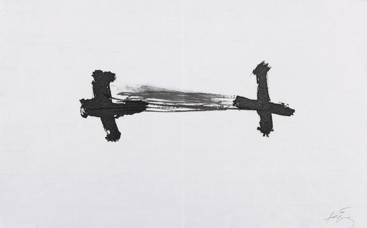 ANTONI TAPIES (Barcelona, 1923-2012) Untitled