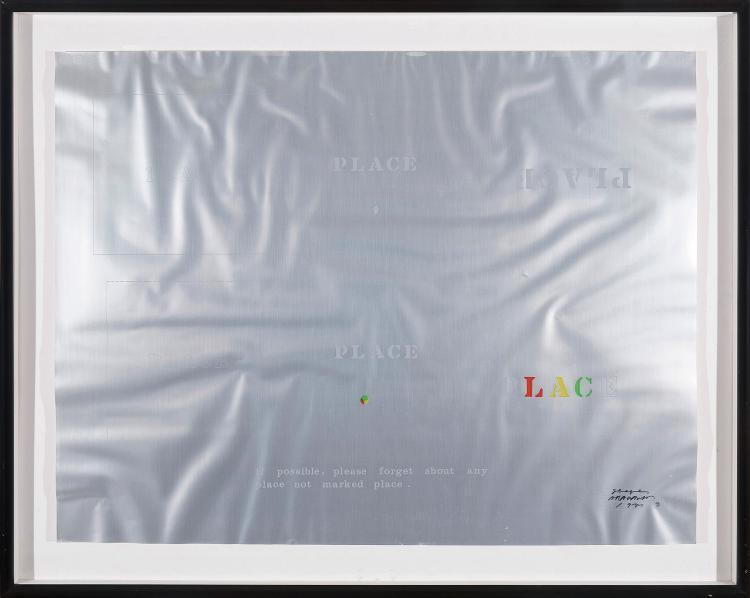 SHUSAKU ARAKAWA (Nagoya, JApon, 1936-Nueva York 2010) Shapes
