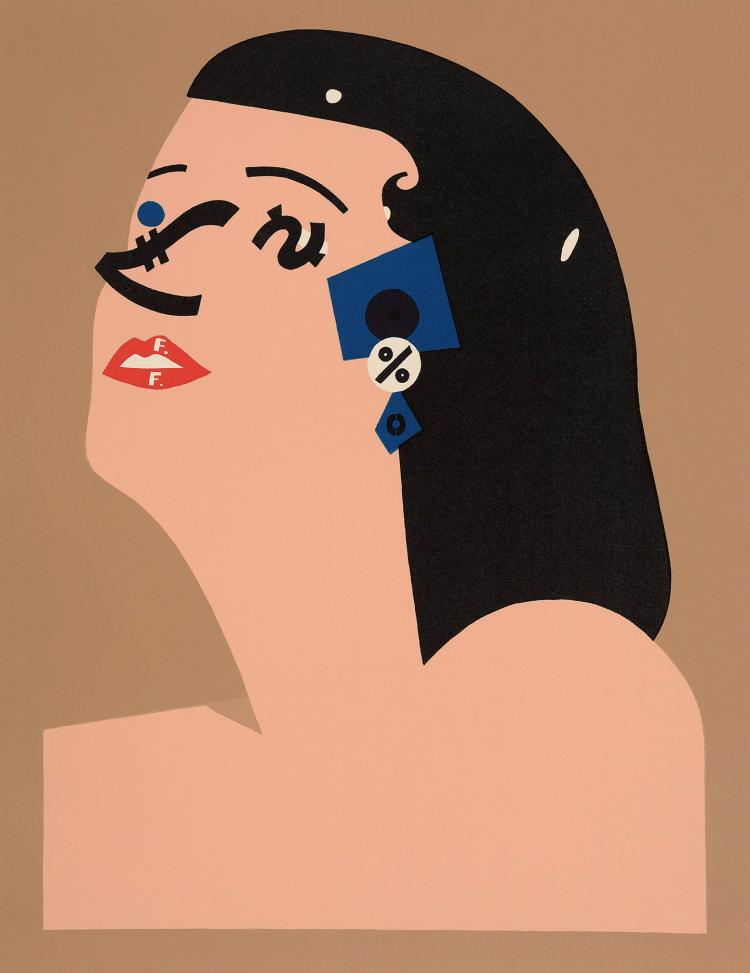 EDUARDO ARROYO (Madrid, 1937) Money II. 1989