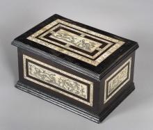 SPANISH BOX, 19th C.