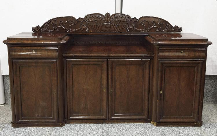 VICTORIAN SIDEBOARD, 19th C.