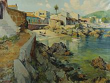 JOSÉ VENTOSA DOMENECH (Palma de Mallorca,1897-1982) - Cala ratjada