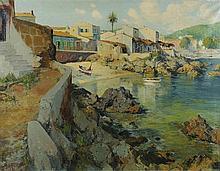 JOSÉ VENTOSA DOMENECH (Palma de Mallorca,1897-1982) Cala ratjada