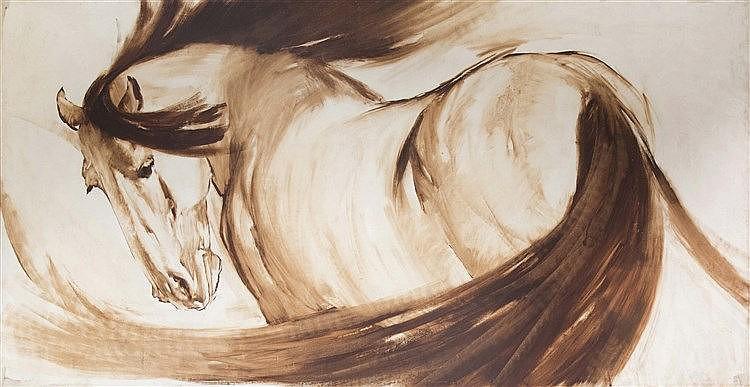 RICARDO ARENYSGALDÓN (Barcelona, 1914-1977) Horse