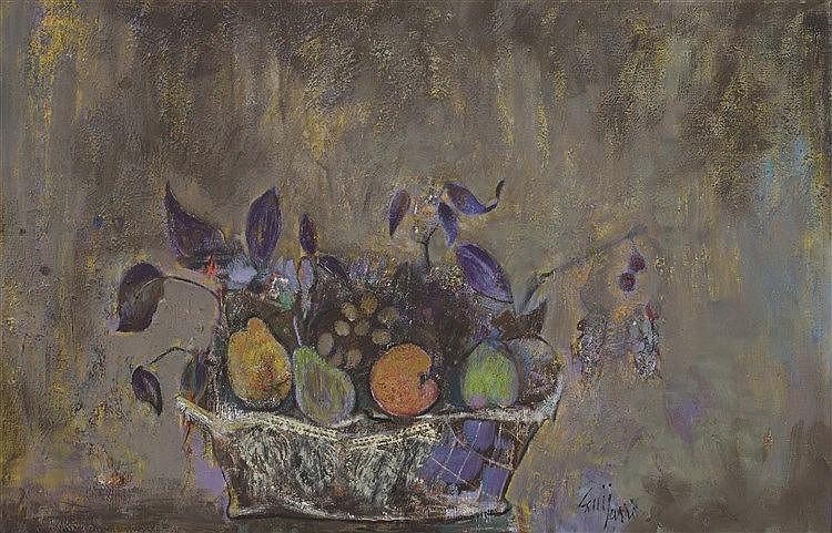 ANTONIO GUIJARRO (Villarubia de los Ojos, 1923-2011) Fruits