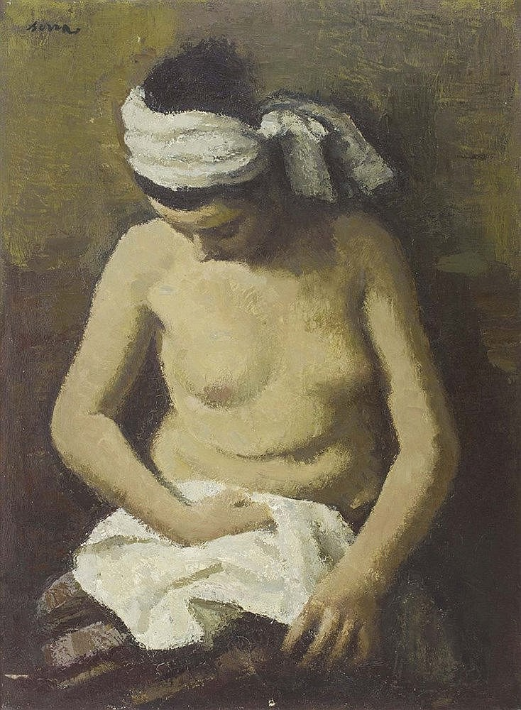 FRANCESC SERRA (1912-1976) Female Nude