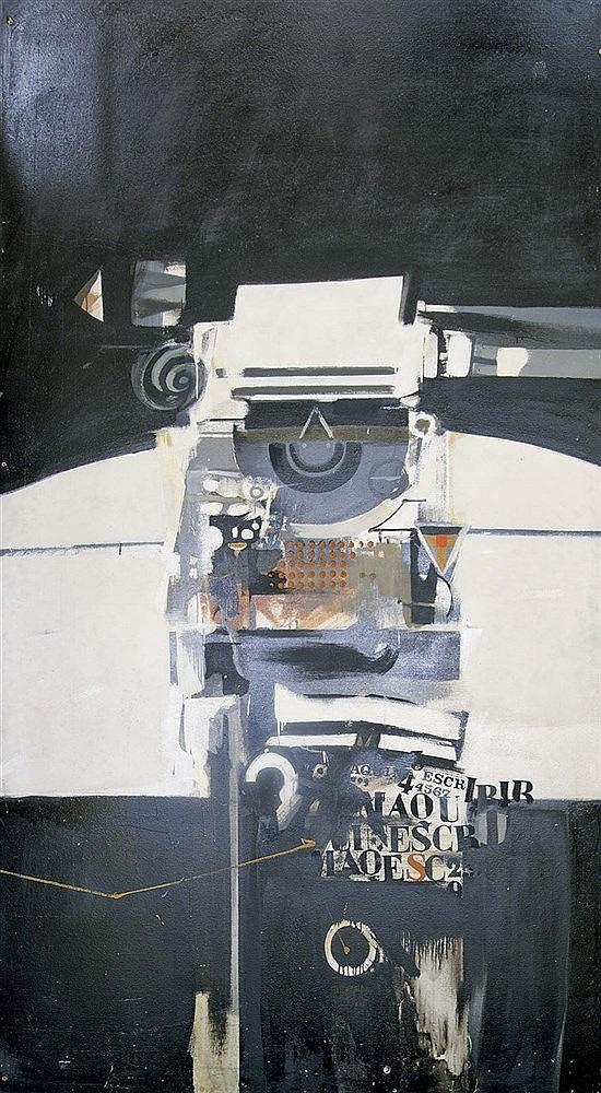 ALFONSO FRAILE (Manresa, 1930-Madrid, 1988) Máquina de escribir