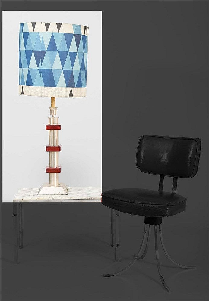 RAFAEL GARCIA DESIGN TABLE LAMP, CIRCA 1960