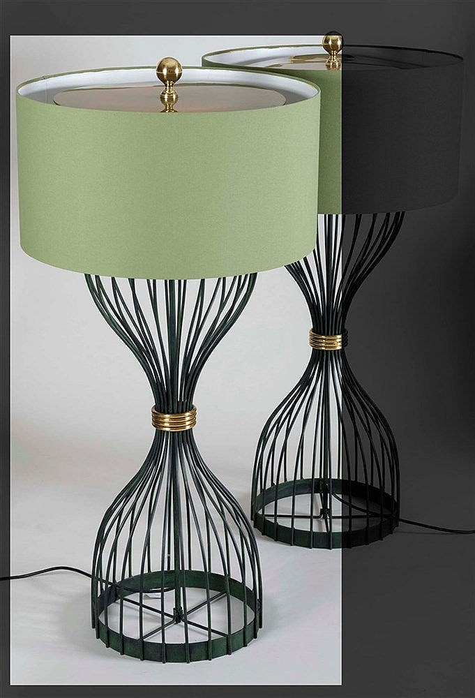 RAFAEL GARCIA DESIGN FLOOR LAMP, 2007