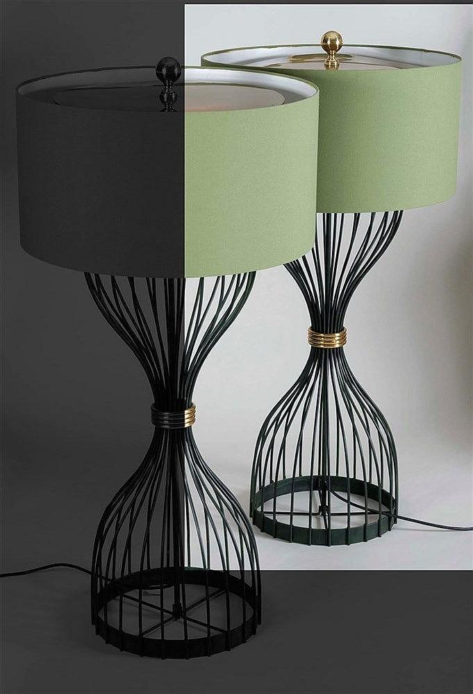 RAFAEL GARCIA DESIGN FLOOR LAMP, 2007