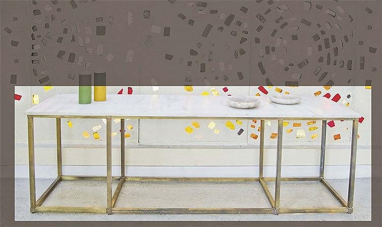 RAFAEL GARCIA DESIGN CONSOLE TABLE, CIRCA 1960-1970