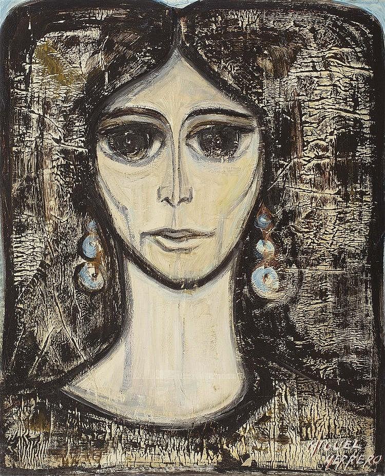 MIGUEL GUERRERO (Spanish Contemporary School) Cabeza de mujer