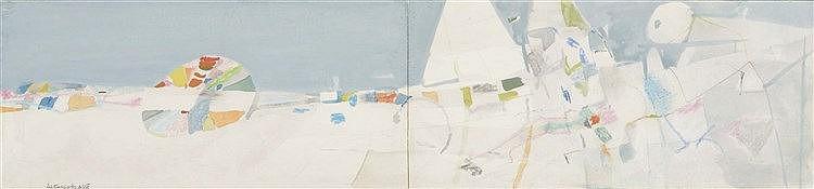 ALFONSO FRAILE (Marchena, 1930-Madrid, 1988) Untitled. 1960