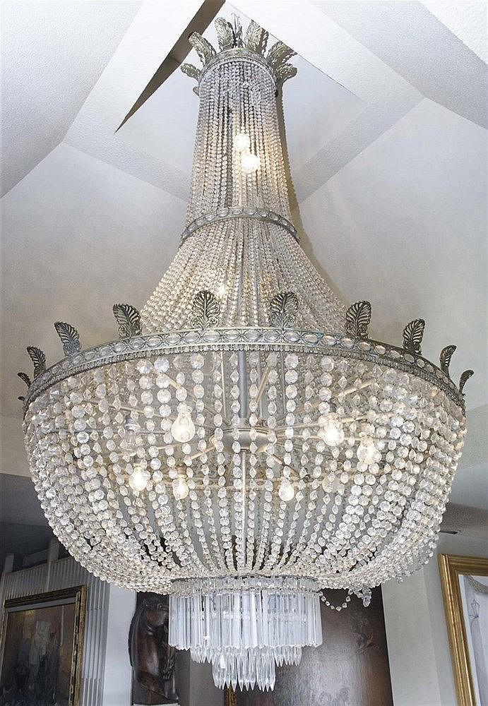 A CEILING LAMP, CIRCA 1950