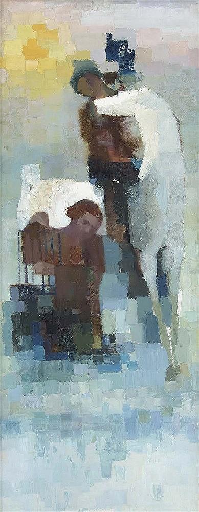 RAMÓN PUIG BENLLOCH (Valencia, 1929-2015) Two Women