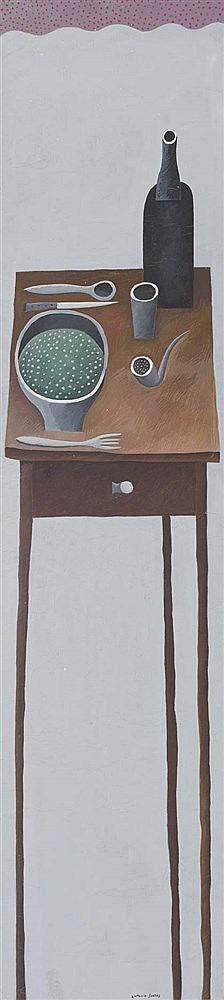 ANTONIO SANTOS (Lupiñén, Huesca, 1955) La mesa