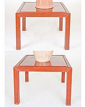 A PAIR OF COFFEE TABLES, RAFAEL GARCIA DESIGN, CIRCA 1970