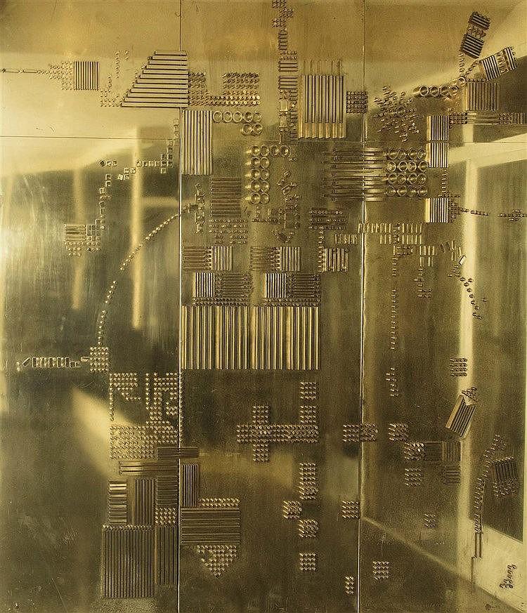 ALFONSO FRAILE (Marchena, 1930- Madrid, 1988). Composición geométrica