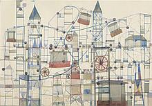 FRANCESC TODÓ GARCÍA (Tortosa, 1922) Ciudad con estructuras