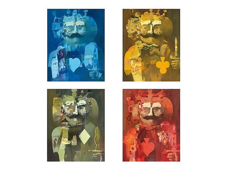 ALFONSO FRAILE (Marchena, 1930-Madrid, 1988) Los cuatro reyes