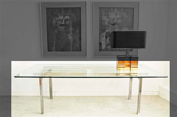 RAFAEL GARCIA DESIGN DINING TABLE, 1970
